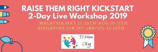 RAISE THEM RIGHT KICKSTART (Singapore) JUL 2019