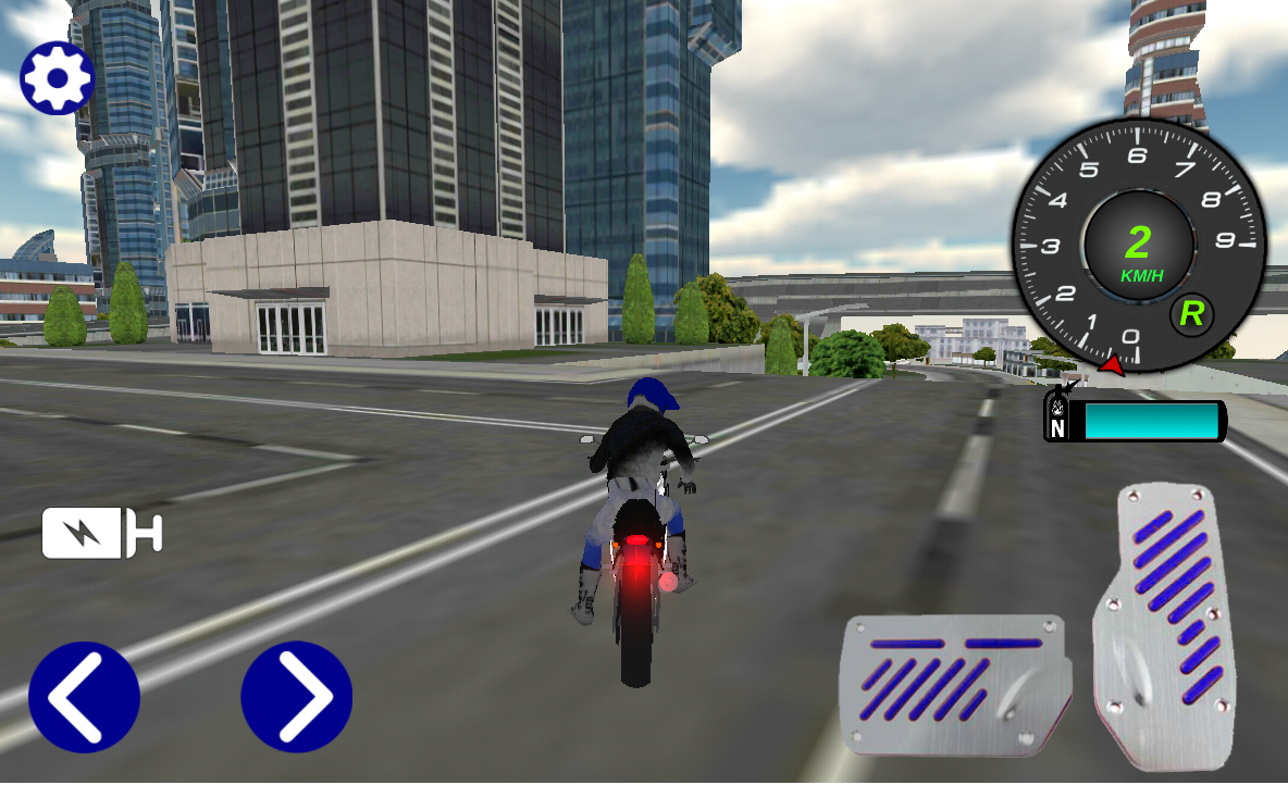 Screenshots of Extreme City Moto Bike 3D for iPhone