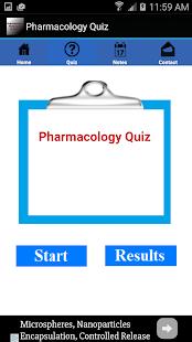 Pharmacology Quiz - náhled