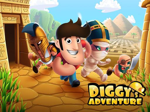 Diggy's Adventure: Escape this 2D Mine Maze Puzzle 1.3.242 screenshots 1
