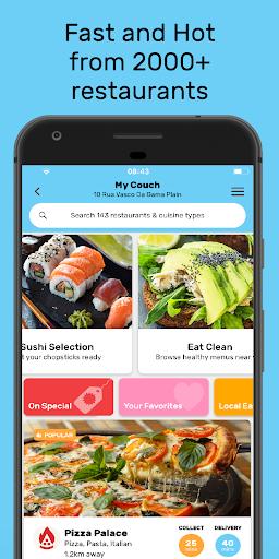 Mr D Food - delivery & takeaway  screenshots 1