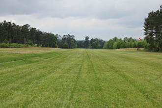 Photo: The runway was looking great! This south.  Wind sock on the right
