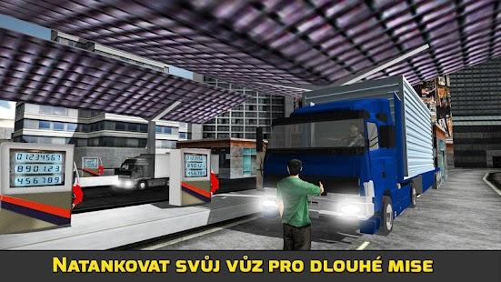 Olej Transporter Truck Driver - náhled