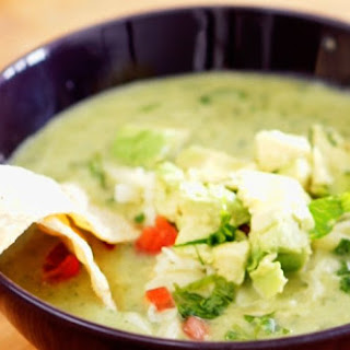 Avocado Chicken Tortilla Soup