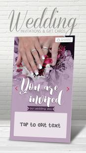 Svatební Pozvánky Karty - náhled