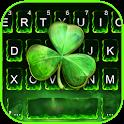 Green Clover Keyboard Theme icon