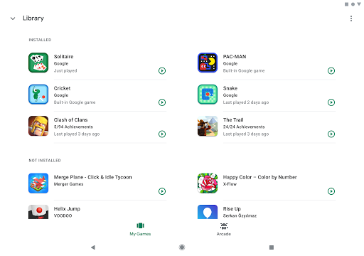 Google Play Games screenshot 10