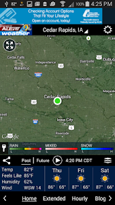 KCRG-TV9 First Alert Weather screenshot 1