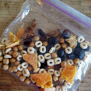 """""""Tablespoon"""" Trail Mix."""