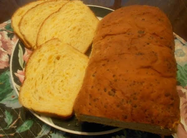 Golden Cheddar Cheese Bread
