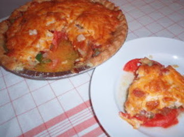 Tomato Basil Pie Recipe