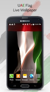 UAE Flag Live Wallpaper screenshot