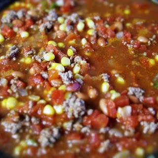 Amanda'S Taco Soup with Romaine Wraps Recipe