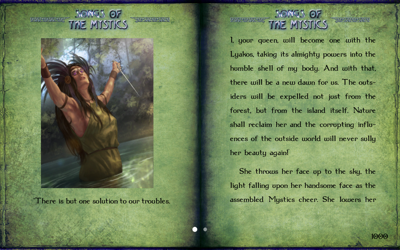 GA 11: Songs of the Mystics- screenshot