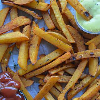 Root Vegetable Fries.