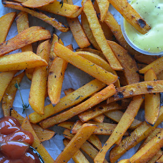 Root Vegetable Fries.