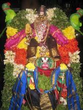 Photo: 5th day night - Hanumantha vahanam -Kasturi rangan as SriRamar