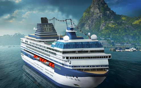 Big Cruise Ship Games Passenger Cargo Simulator Android Apps On - Cruise ship building games