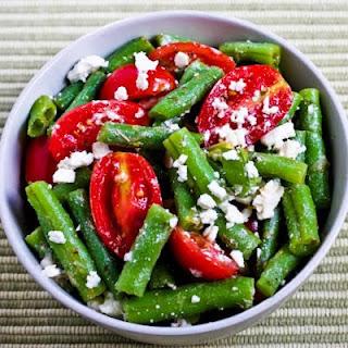 Green Bean, Tomato, and Feta Salad Oreganato