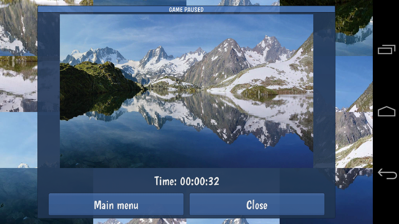 Tile Puzzles · Mountains- screenshot