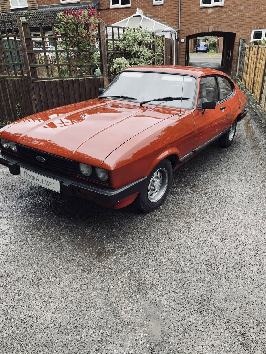 Ford Capri Hire Tadley