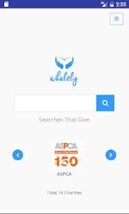 Whalely Search Bar / Widget- screenshot thumbnail