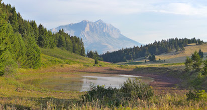 Photo: Red Lake with Castle Reed in distance
