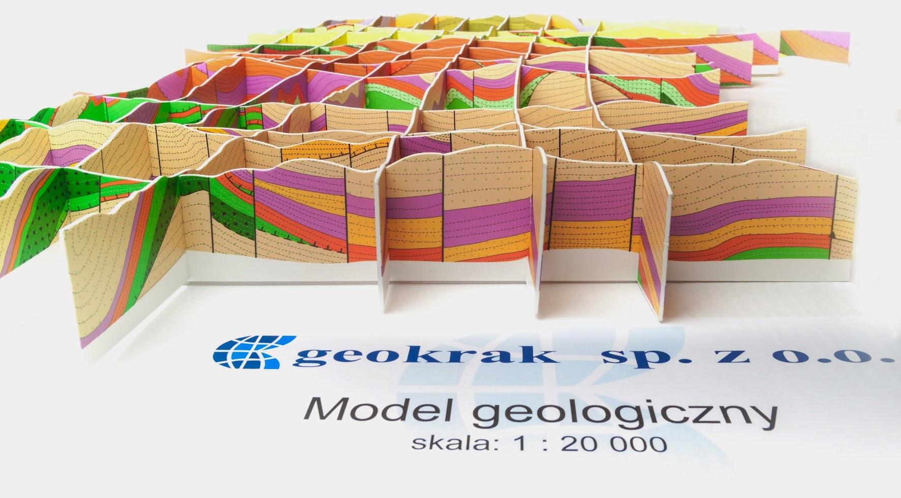 model geologiczny geokrak