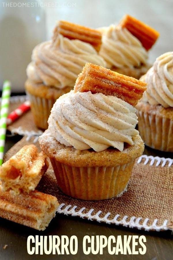 Churro Cupcakes Recipe