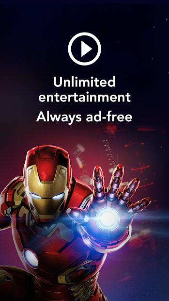 Disney+ Android App Screenshot