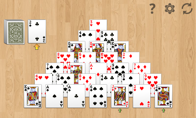 Pyramid Solitaire!- screenshot