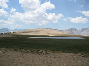 Photo: Bighorn Plateau's lake!