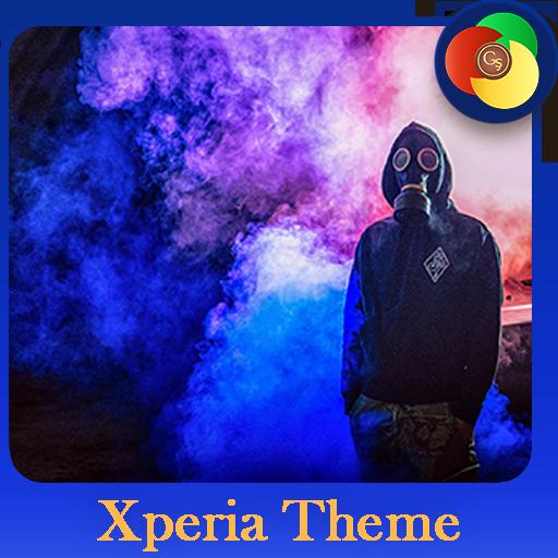 human and smoke | Xperia™ Theme