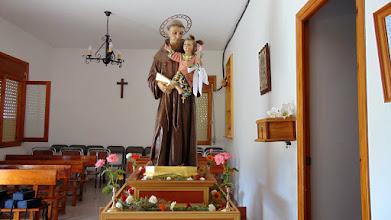 Photo: San Antonio de Padua. Patrón de Mesones.