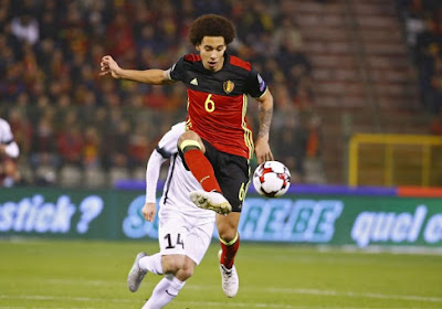 """Axel Witsel : """"Il fallait absolument marquer vite"""""""