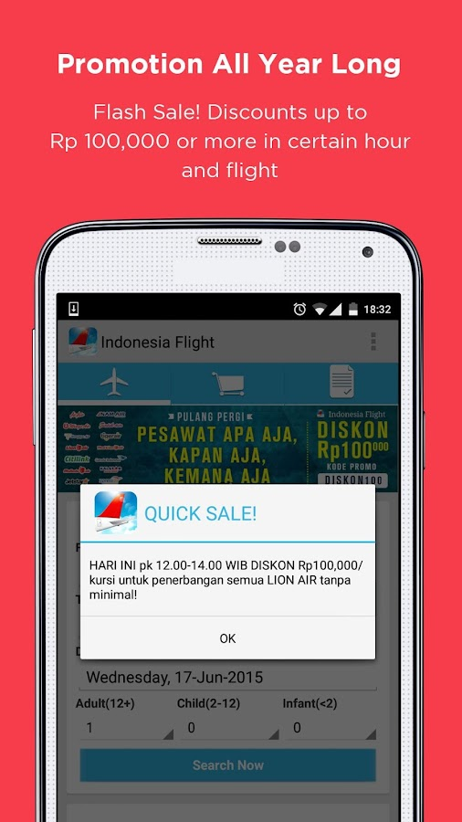 Indonesia Flight- screenshot
