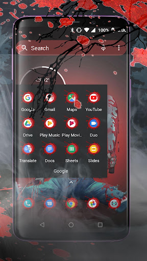 Scary Doll Halloween Theme - Wallpapers and Icons 1.0.3 screenshots 4