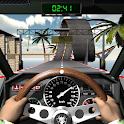 Car Stunt Racing. Driving simulator icon