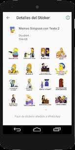 Stickers Memes de los Simpsons – WAStickerApps 5