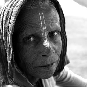 God Is Great by Som Nath - People Portraits of Women (  )