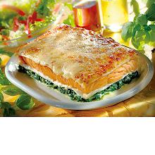 Abbildung Lachs-Lasagne