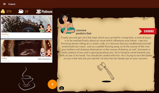Kaave - Coffee Cup Readings screenshot 17