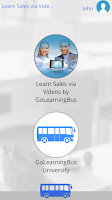 Screenshot of Learn Sales via Videos