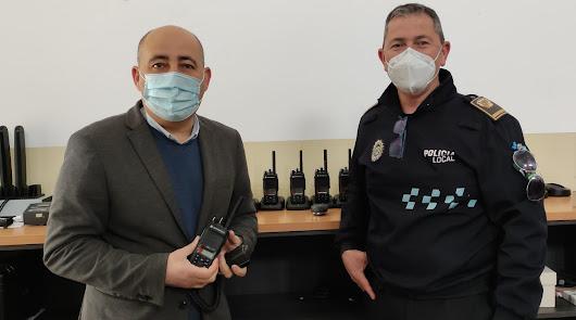 Huércal-Overa amplía el sistema de transmisión digital de la Policía Local