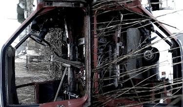 Photo: An auld car wi nae doors