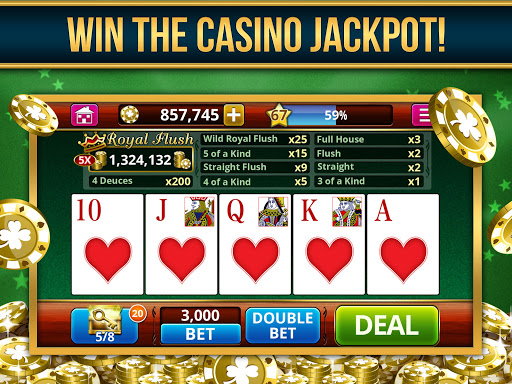 VIDEO POKER OFFLINE FREE! screenshot