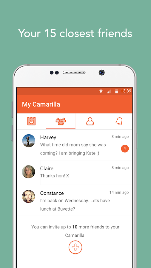 Camarilla - share privately- screenshot