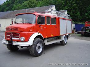 Photo: Mercedes Rundhauber / Kurzhauber 1113 Feuerwehr 4x4 mit Einzelbereifung 385/65R22.5