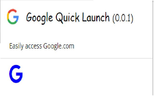 Google Quick Launch