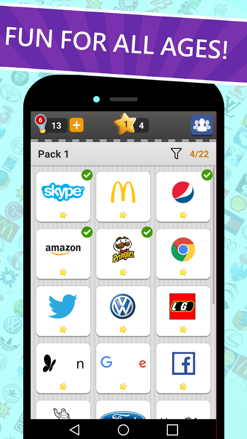 Logo Game: Guess Brand Quiz Screenshot 14
